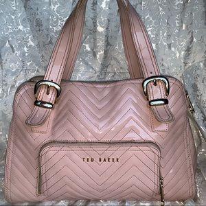 Ted Baker Pink Quiltted Handbag